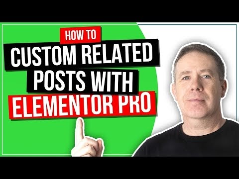 How to Add Related Posts in Elementor