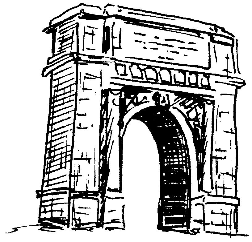 Dessin Darc De Triomphe