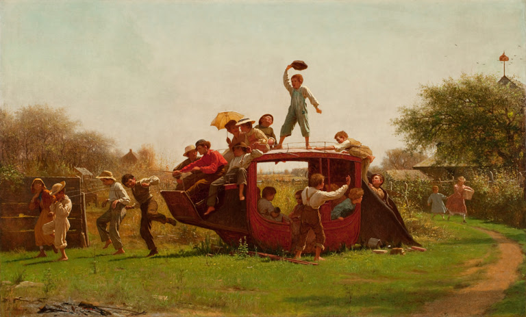 Old Stagecoach by Eastman Johnson