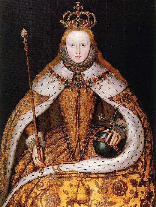 queen elizabeth young life. Queen Elizabeth I, daughter of