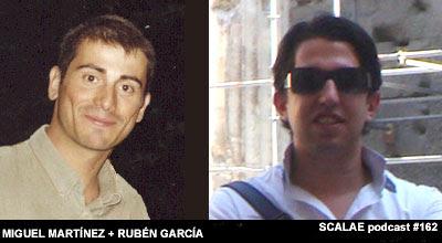 Miguel Martínez Monedero, Rubén García Rubio para SCALAE
