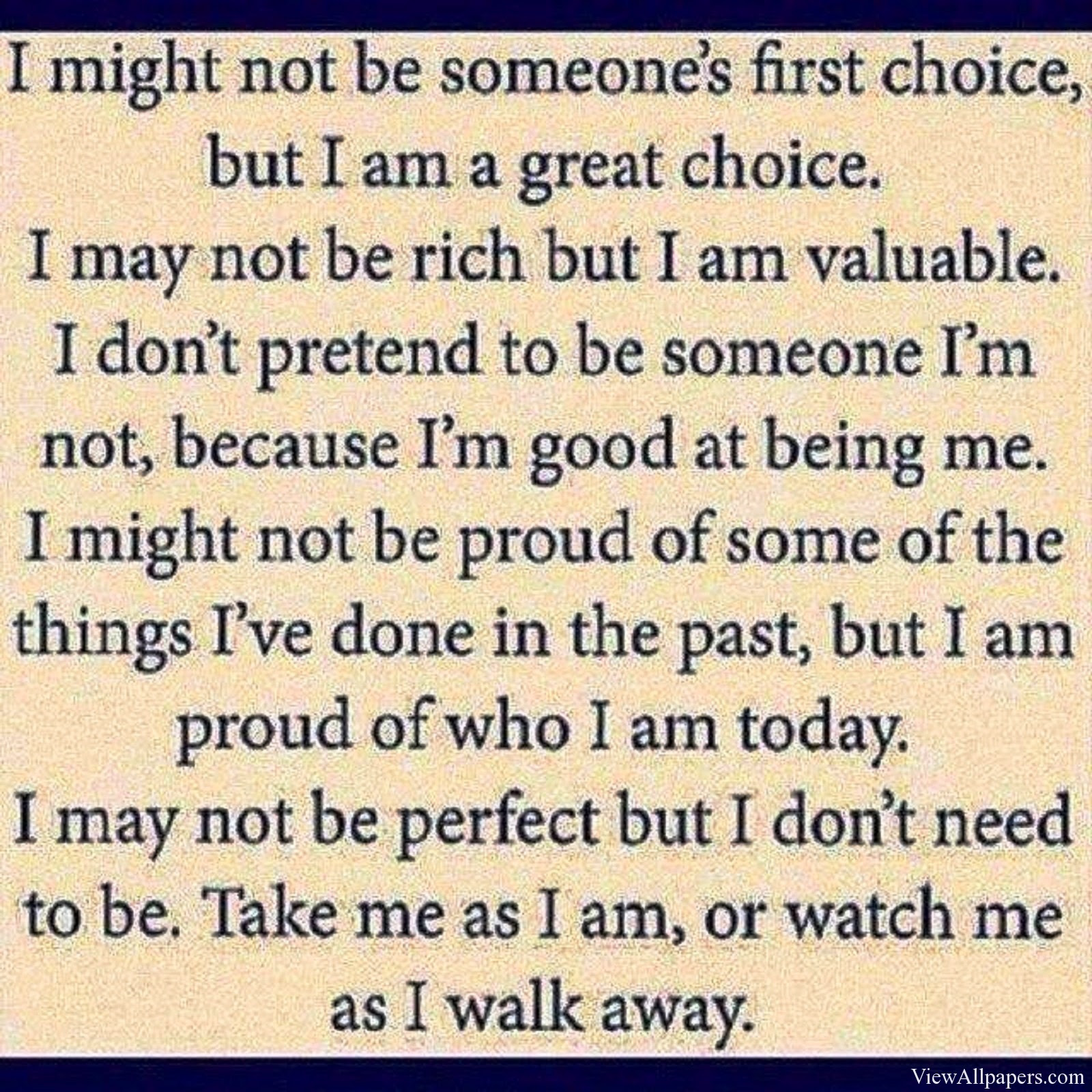 People Quotes I May Not Be Perfect Quotespicturescom