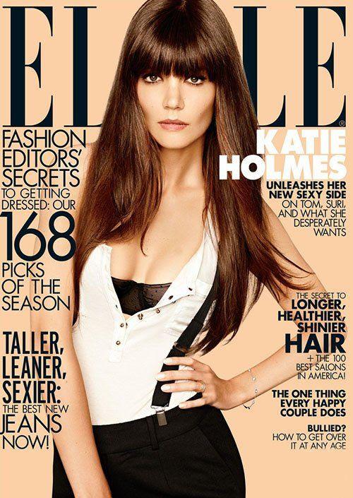 ELLE magazine - August 2012, Katie Holmes