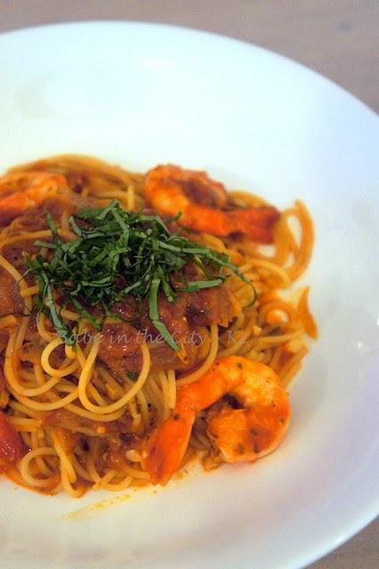 Spaghettini Con Gamberi RM24.00