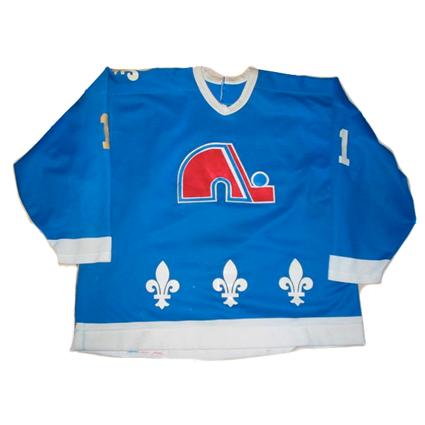 Quebec Nordiques 90-91 jersey