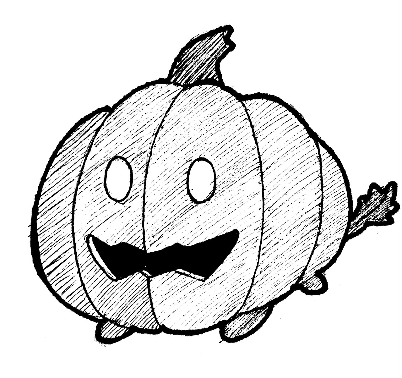 Inktober Day 18 - Pumpkin