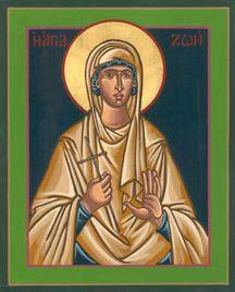Sainte Zoé, martyre († v. 127)