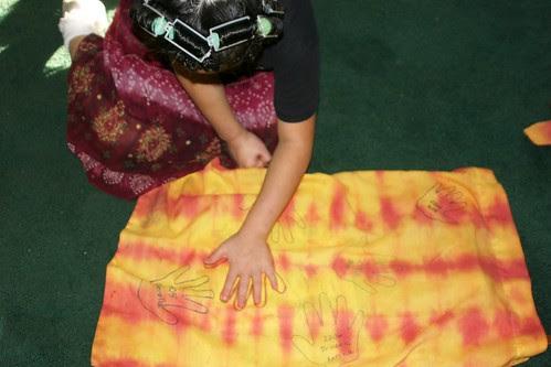 Halloween Handprint Candy Bag