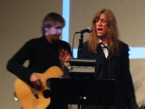 Patti Smith 12/2/07 by muzikspy