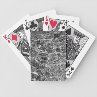 River Water Ripples Deck Of Cards