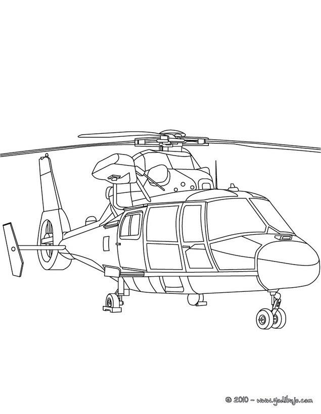 Dibujos Para Colorear Helicoptero Militar Eshellokidscom