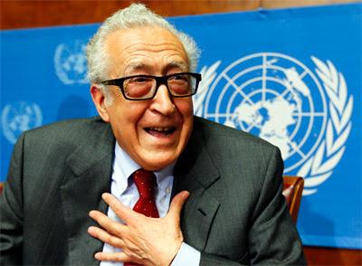 Lakhdar Brahimi, mediador internacional para Siria.