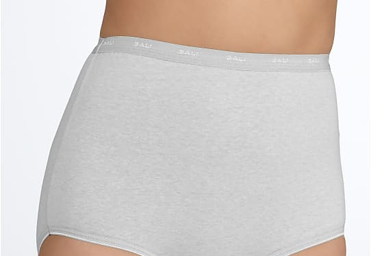 5 NWOT BALI 8//XL Light TUMMY CONTROL DOUBLE SUPPORT COTTON STRETCH BRIEF PANTIES