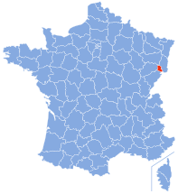 Ubicación de Territorio de Belfort