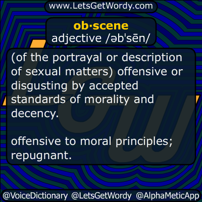 obscene 05/20/2017 GFX Definition