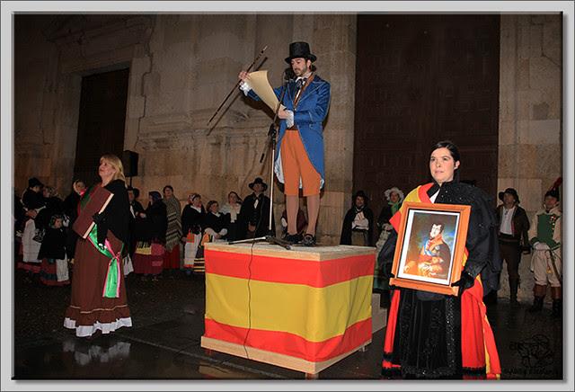 Recreación histórica de la Constitución de 1812 en Briviesca (1)