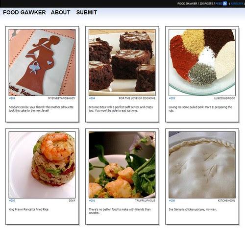 Foodgawker - homage to Tastespotting