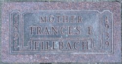 Frances Elizabeth <i>Vlieland</i> Fillbach