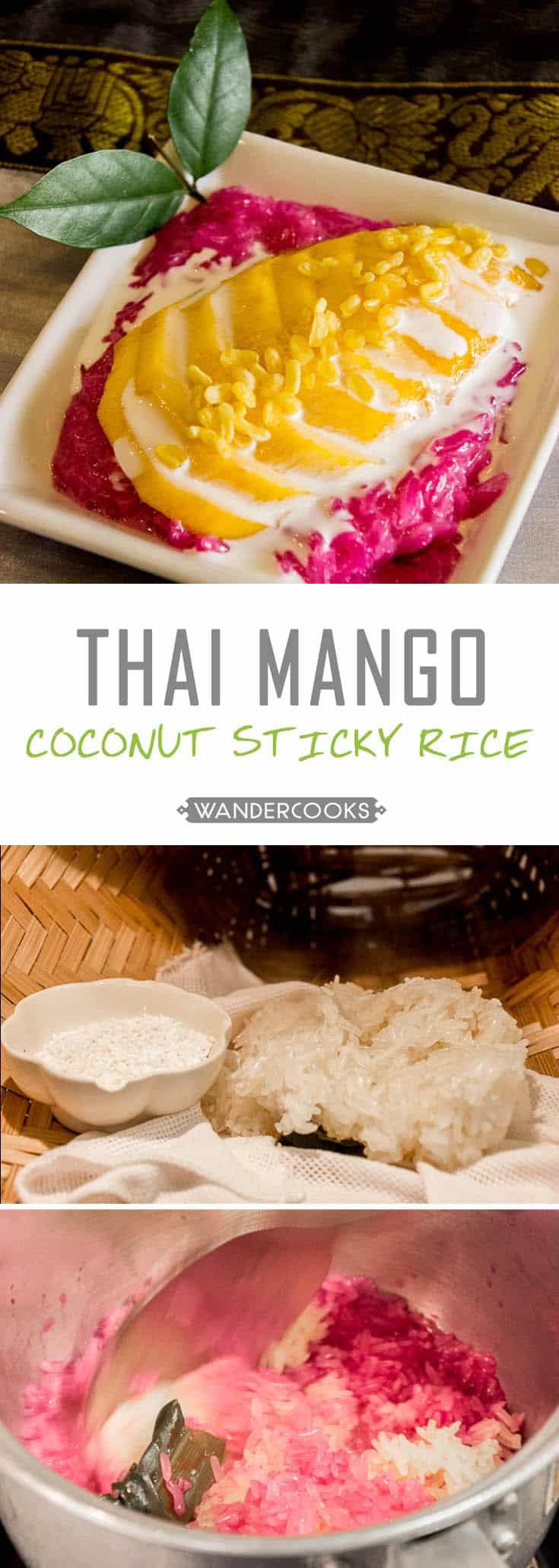 Mango Coconut Sticky Rice | Wandercooks