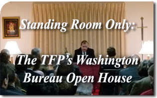 Standing Room Only: The TFP's Washington Bureau Open House