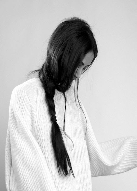 2 Le Fashion Blog 21 Braid Ideas For Long Hair Black Messy Loose Side Braided Ponytail Hairstyle Via FrouFrouu
