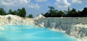 Belitung Kaolin Lake