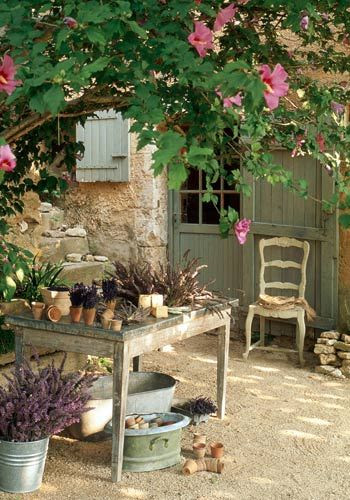 Garden - Terrace Mediterranean style