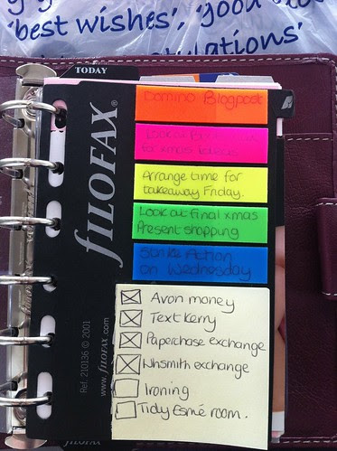Tracy's dashboard :-) x