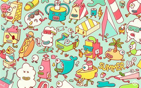 cute doodle wallpapers wallpaper cave