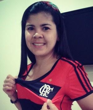 Torcedores do Flamengo apostam em recuperação com Luxemburgo no AP (Foto: Arquivo Pessoal/ Ana Cristina)