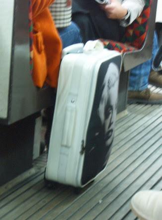 Marilyn Monroe Luggage