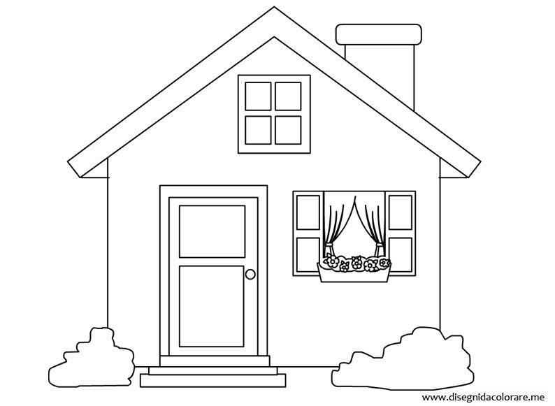 Il Meglio Di Disegni Da Colorare Casa Migliori Pagine Da Colorare