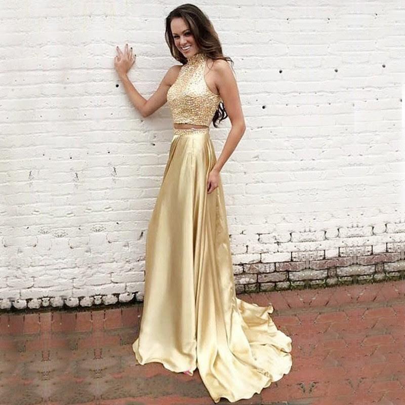 gold prom dresses formal dresses banquet dresses