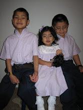 Isaac, Jonah and Abigail