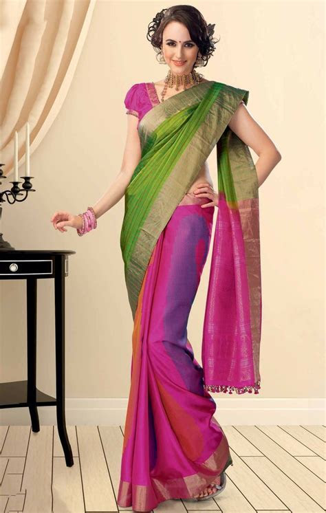 17 Best images about sarees designs on Pinterest   Silk