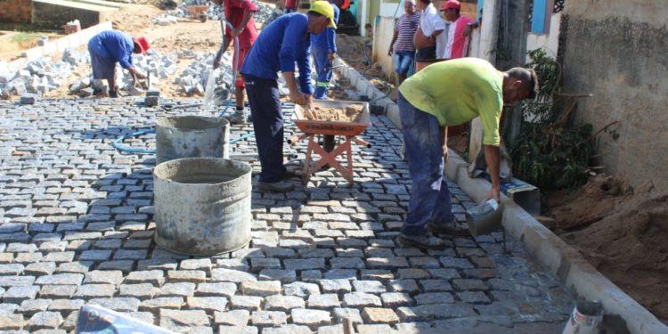 Mamanguape: Prefeita Eunice Pessoa entrega neste sábado a pavimentação da Rua do Campo II, no distrito Pitanga da Estrada