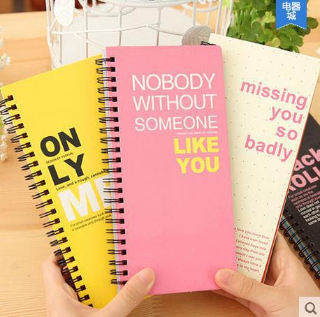 Aliexpress.com : Buy Cute spiral/coil colorful rainbow notebook ...