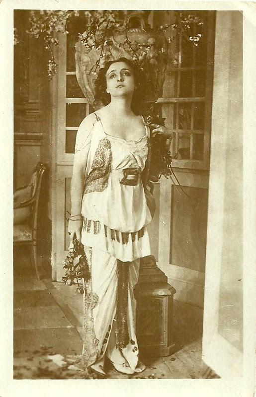 Lyda Borelli in Marcia nuziale