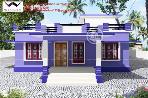 sq ft beautiful simple home design