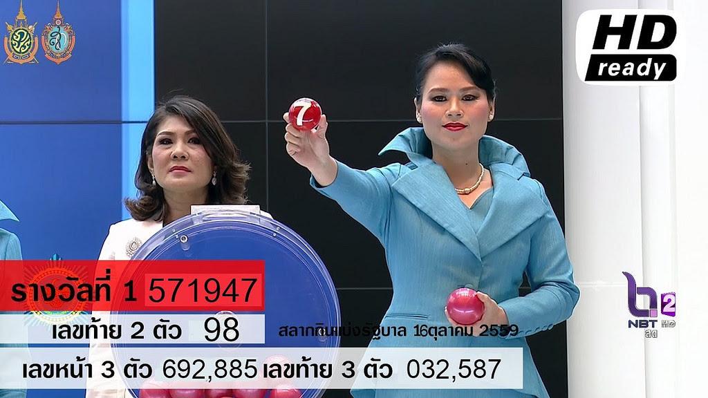 Liked on YouTube: ผลสลากกินแบ่งรัฐบาล ตรวจหวย 16 ตุลาคม 2559 [ Full ] Lotterythai HD youtu.be/YhXzTMEePhU