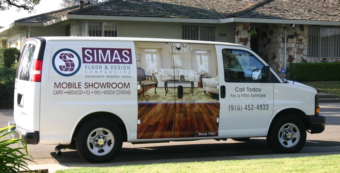 Mobile Showroom Simas Floor Design Company