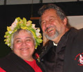Tariana and Pita at the Maori Party Launch 200...