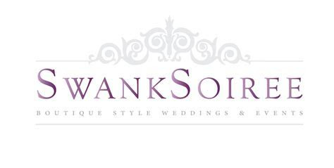 Event planner, Swank Soiree's new logo and website   Logo