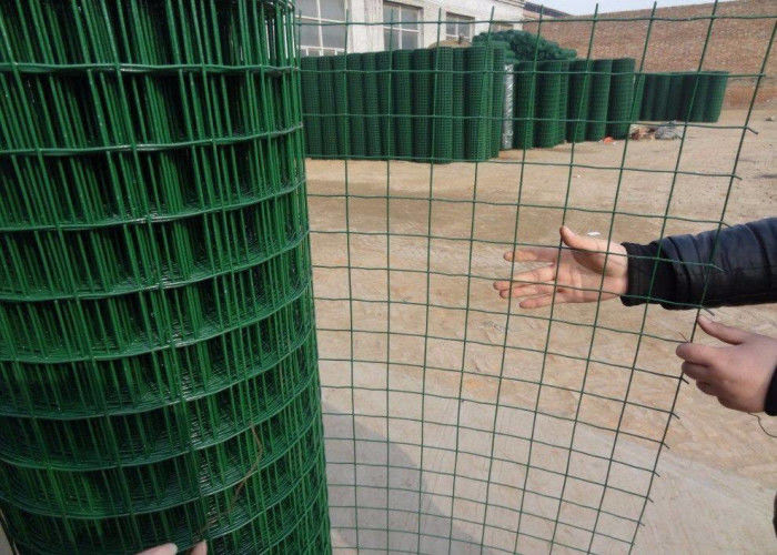 Fence Panel Pvc Coated 1 2 X Bwg18 40kgs Welded Wire Mesh