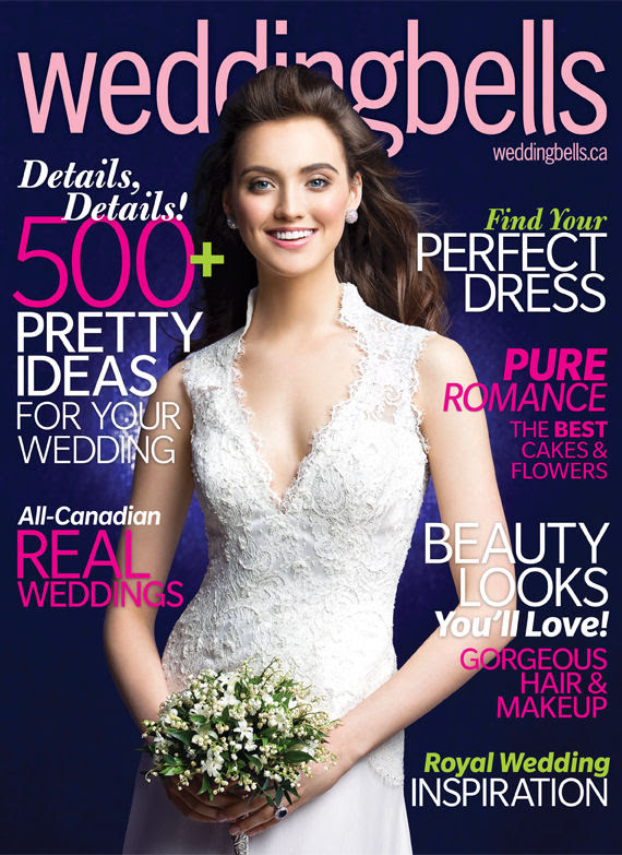 This month 39s Weddingbells magazine featured our dress Isolde on the cover