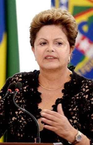 O percentual que considera o governo Dilma pior que o de Lula aumento de 34% para 42% (Evaristo Sa/AFP Photo)