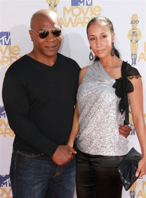 Mike Tyson and Lakiha Spicer: Married (Again, Sort Of