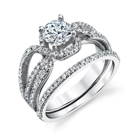 Wedding ring sets cubic zirconia : Lion king new york