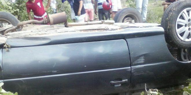 Acidente que vitimou o agricultor Luiz Vieira (Foto: Enviada whatsapp)