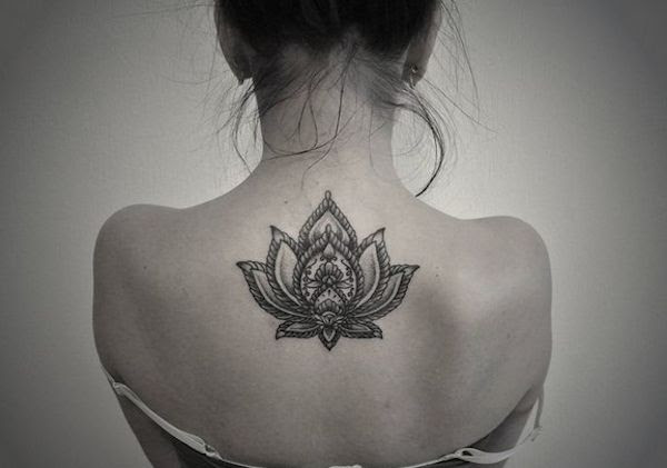 Lotus Flower Back Tattoo Tattoomagz